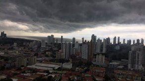 Lluvias con posibles descargas eléctricas en Panamá Este