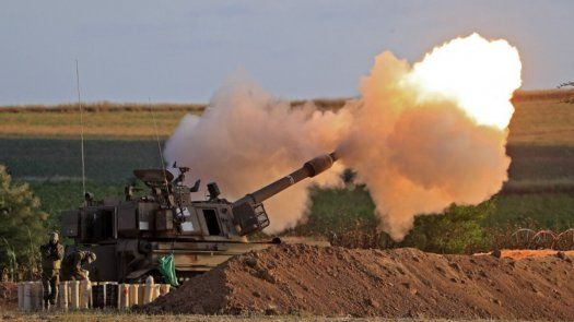 El ejército de Israel asegura que el objetivo de sus bombardeos son los locales y equipos de Hamás así como algunos comandantes y túneles subterráneos,