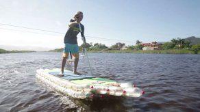 Tablas ecológicas de surf sobre la ola del reciclaje en Brasil