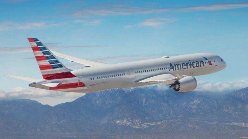 American Airlines restablece vuelos entre Estados Unidos y España