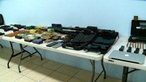 Autoridades incautan 34 armas de fuego y aprehenden a 19 personas en Operación Furia