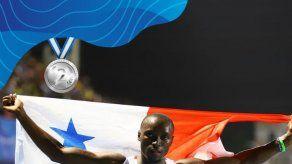 Alonso Edward se queda con medalla de Plata en Barranquilla 2018