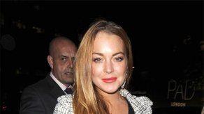 Lindsay Lohan vuelve a abandonar una entrevista en pleno directo