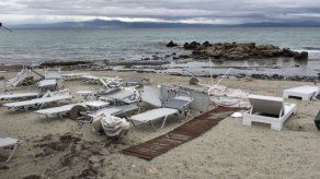 Seis muertos en un tornado en Grecia