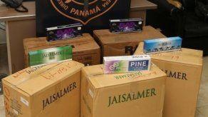 Aduanas decomisa cigarrillos en Terraplén y potenciadores sexuales en Tocumen