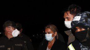 Expresidenta de Bolivia Áñez tilda su detención de ilegal