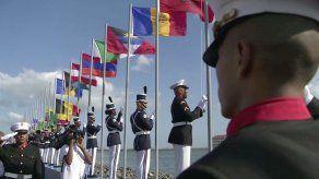 Izan banderas de 193 países miembros de la ONU en el marco de la JMJ en Panamá
