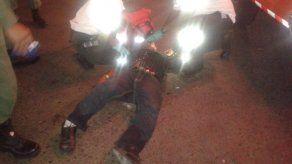 Hombre resultó herido al ser atropellado en la Gran Estación