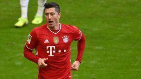 Lewandowski suma ya 35 tantos en la Bundesliga tras su triplete