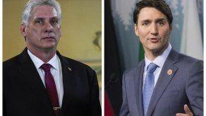 Díaz-Canel y Trudeau abordan la situación en Venezuela