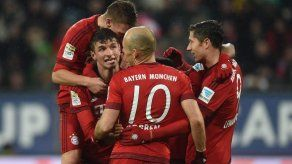El campeón Bayern Múnich abrirá la Bundesliga ante Werder Bremen en casa
