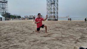 Karateca panameño Cención espera competencia diferente en Juegos de Playa