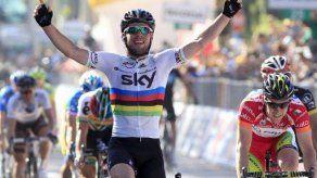 Victoria de Cavendish en etapa del Giro