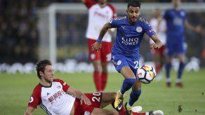Mahrez rescata empate para Leicester ante West Brom