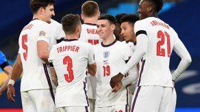 Inglaterra golea 4-0 a Islandia en su despedida de la Liga de Naciones
