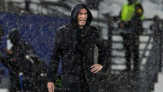 Zidane: No sé qué va a pasar, todo puede ocurrir
