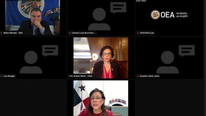 Panamá firmó resolución de rechazo de elecciones parlamentarias de Venezuela