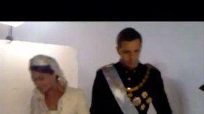 Amaia Salamanca recuerda con humor su interpretación de la reina Letizia