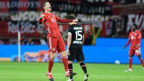 Bayern Múnich gana y arrebata el liderato al Bayer Leverkusen