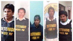Desarticulan en Perú una presunta red de colaboradores de Sendero Luminoso
