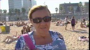 Maleta de playa con mecanismo antirrobo