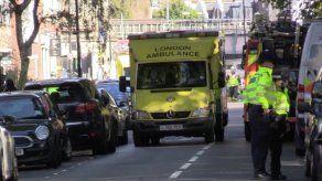 18 hospitalizados por la explosión en el Metro de Londres