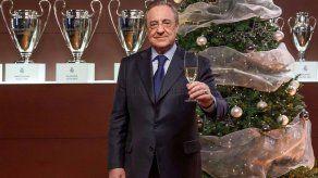 Florentino destaca confianza en los jugadores en acto Ningún niño sin regalo