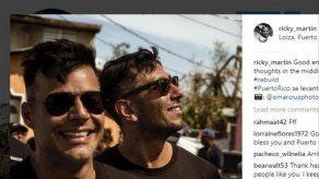 Ricky Martin documenta en sus redes el espíritu de superación de su Puerto Rico natal