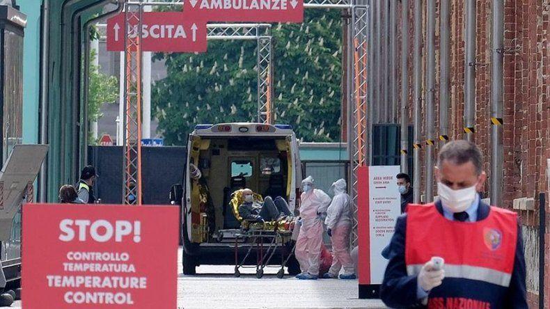 Italia reduce por primera vez el número de positivos por coronavirus