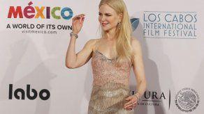 Nicole Kidman recibe premio en Festival de Cine de Los Cabos