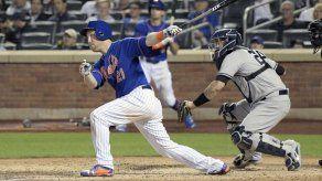 Lugo y Frazier ayudan a Mets a salir de racha perdedora