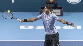 Del Potro gana en Basilea y apunta a la Copa Masters