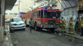 Un conato de incendio se registró en un edificio en San Miguel