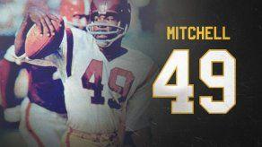 Los Redskins retiran el número de Mitchell