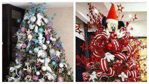 Así decoraron el arbolito de Navidad