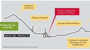 Anuncian cierre total de la entrada de Panamá Pacífico del 15 al 18 de enero