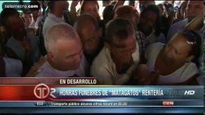 "Último adiós al goleador Luis ""Matagato"" Rentería"
