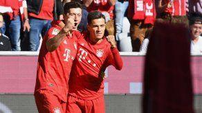 Bayern Múnich arrasa 4-0 al Colonia con el primer gol de Coutinho
