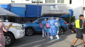 Un albergue en Parque Lefevre se mantiene bajo cerco sanitario por casos de COVID-19