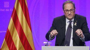 El soberanismo catalán amaga con la independencia frente a Justicia española