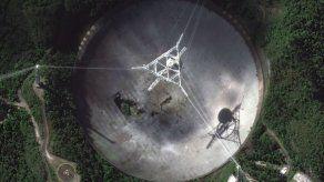 Se termina de derrumbar telescopio de Arecibo en Puerto Rico