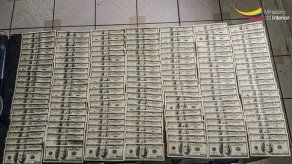 Ecuador: Decomisan 10 millones de dólares falsos