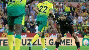 Manchester City cae 3-2 ante Norwich