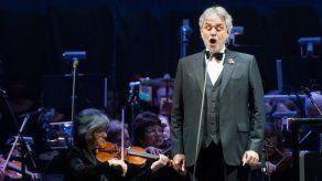 Andrea Bocelli se presentará por primera vez en Guatemala en octubre