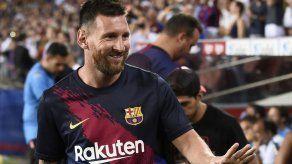 Messi sigue un proceso de recuperación normal