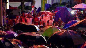 Festejo del 3 de noviembre inició con tradicionales dianas y actos protocolares