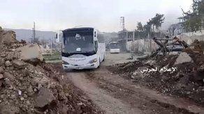 Concluye la primera fase de traslados de población en Siria