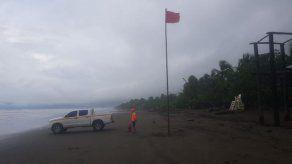 Sinaproc mantiene bandera roja en playas de Chiriquí