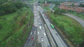 Inicia ampliación de horario de inversión de carriles de Panamá Oeste a la capital