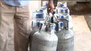Delincuentes utilizan nuevas modalidades para robar cilindros de gas